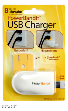 Power Strip Liberator PowerBandit Retail Packaging