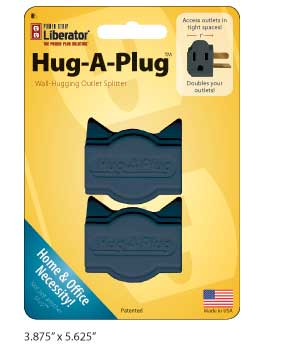Power Strip Liberator Hug-A-Plug Retail Packaging