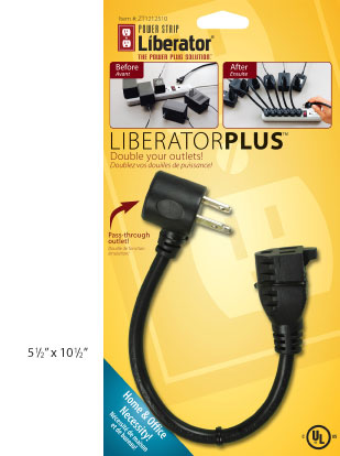 Power Strip Liberator Plus Retail Packaging