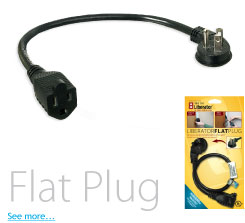 Power Strip Liberator    Flat Plug